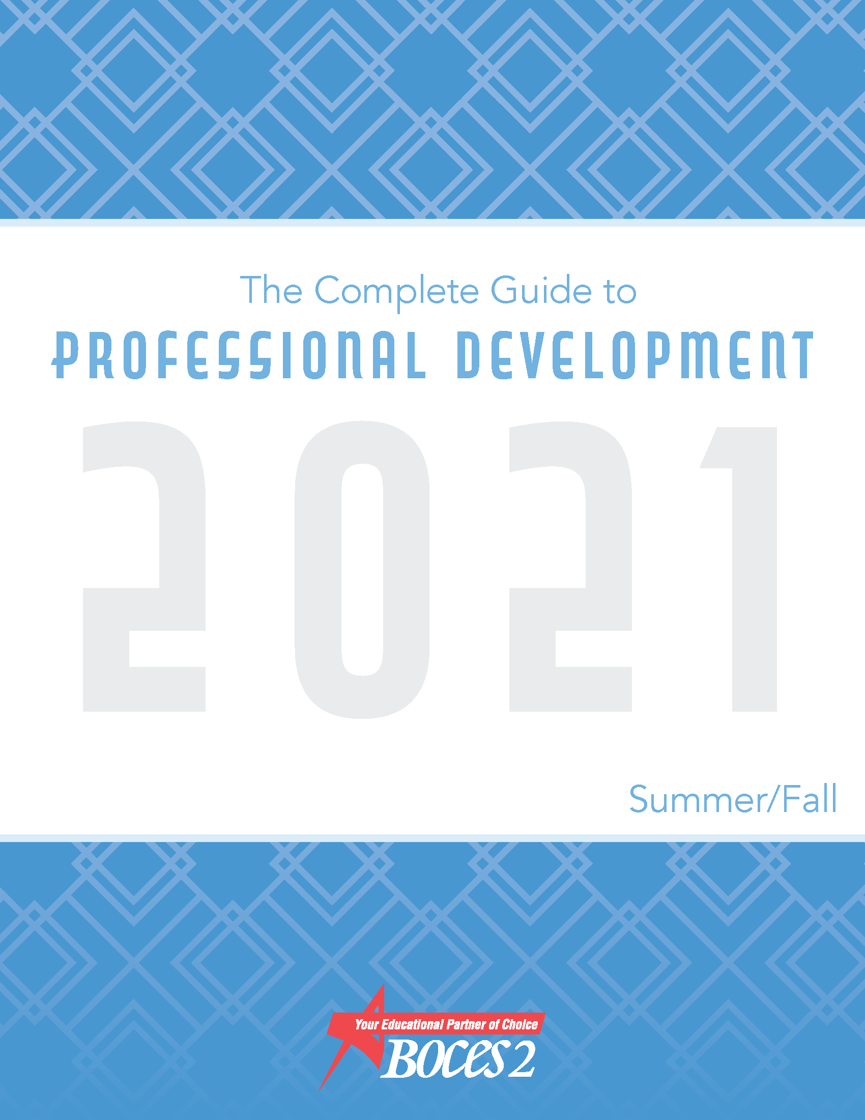 Cover of the 2021 Professional Development Guide