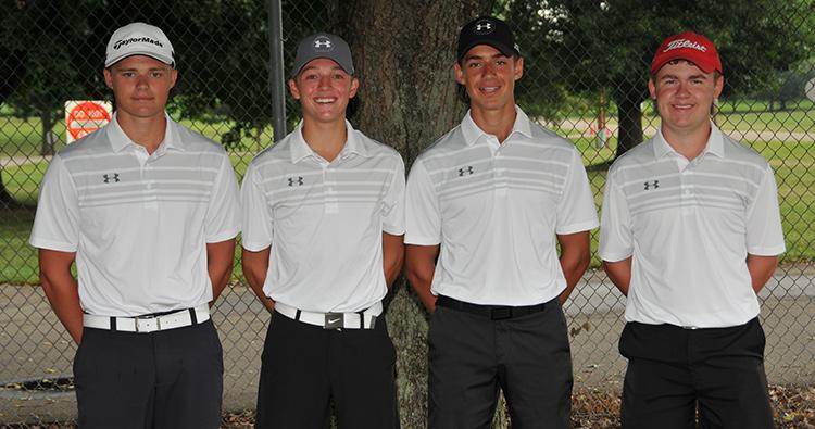 Boys' Golf Lettermen