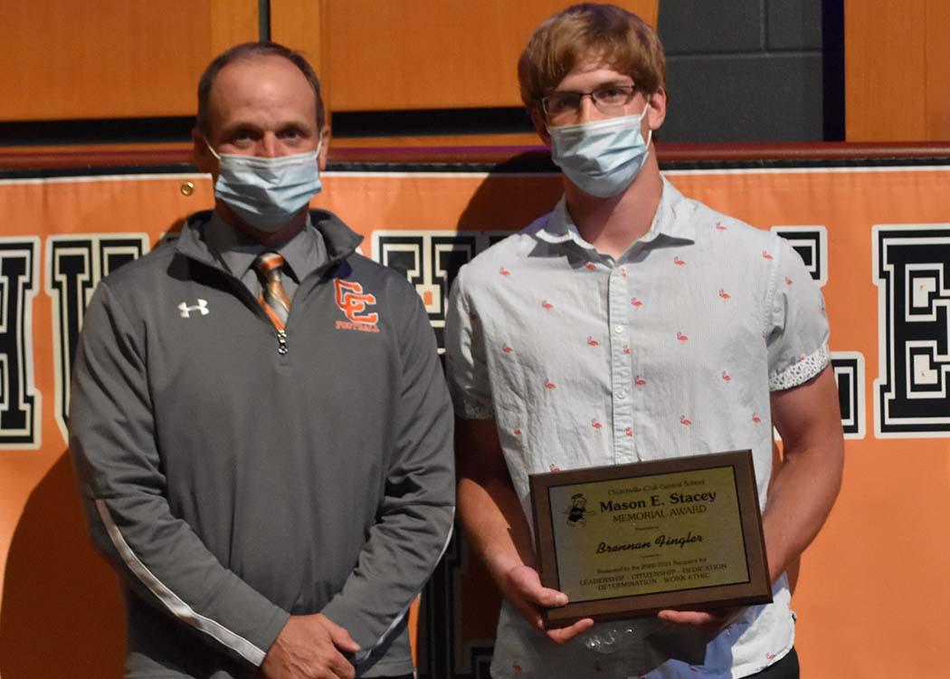Brennan Fingler - Mason E. Stacey Award