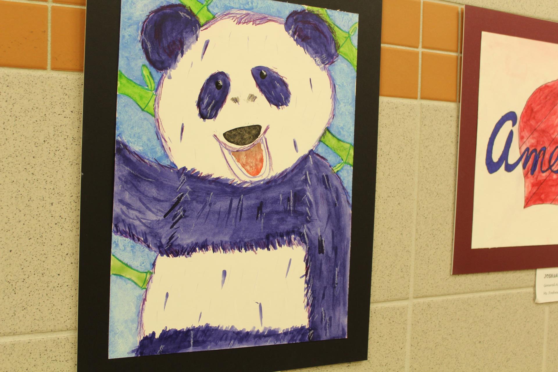 Panda artwork