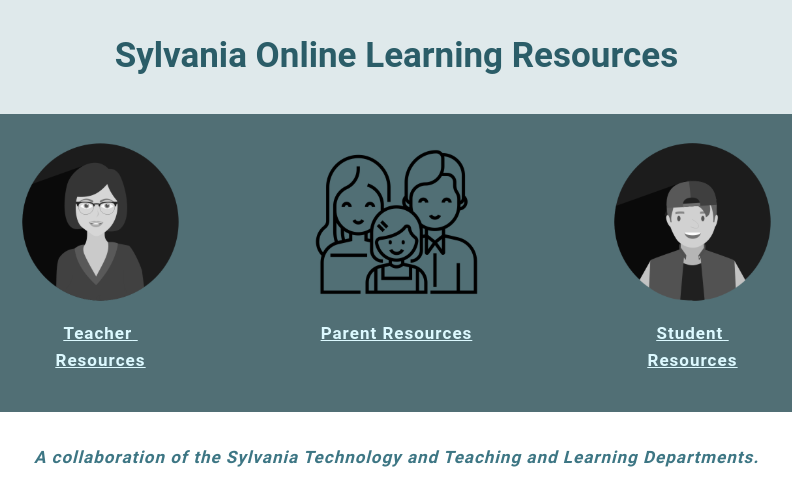sylvania remote learning website