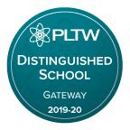 PLTW badge