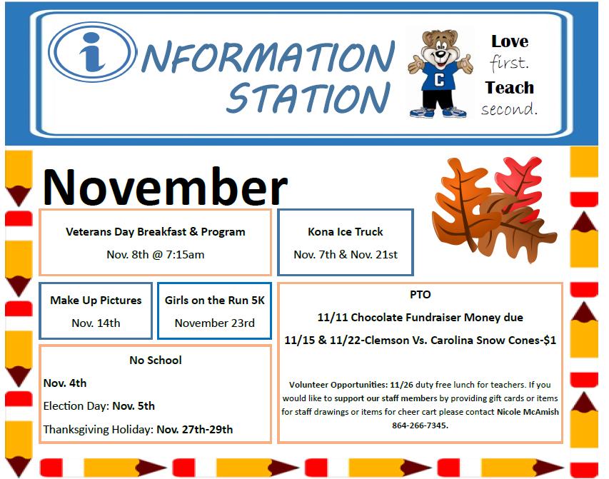 Information Station Front
