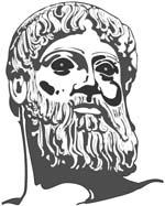 Odin Greek Statue