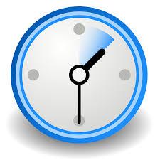 Clock at 1:30pm