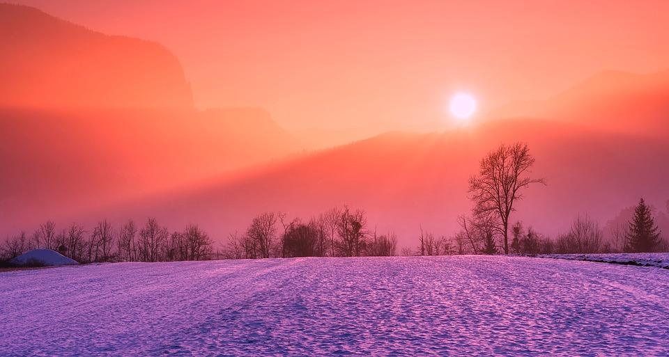 Peaceful Winter Sunrise