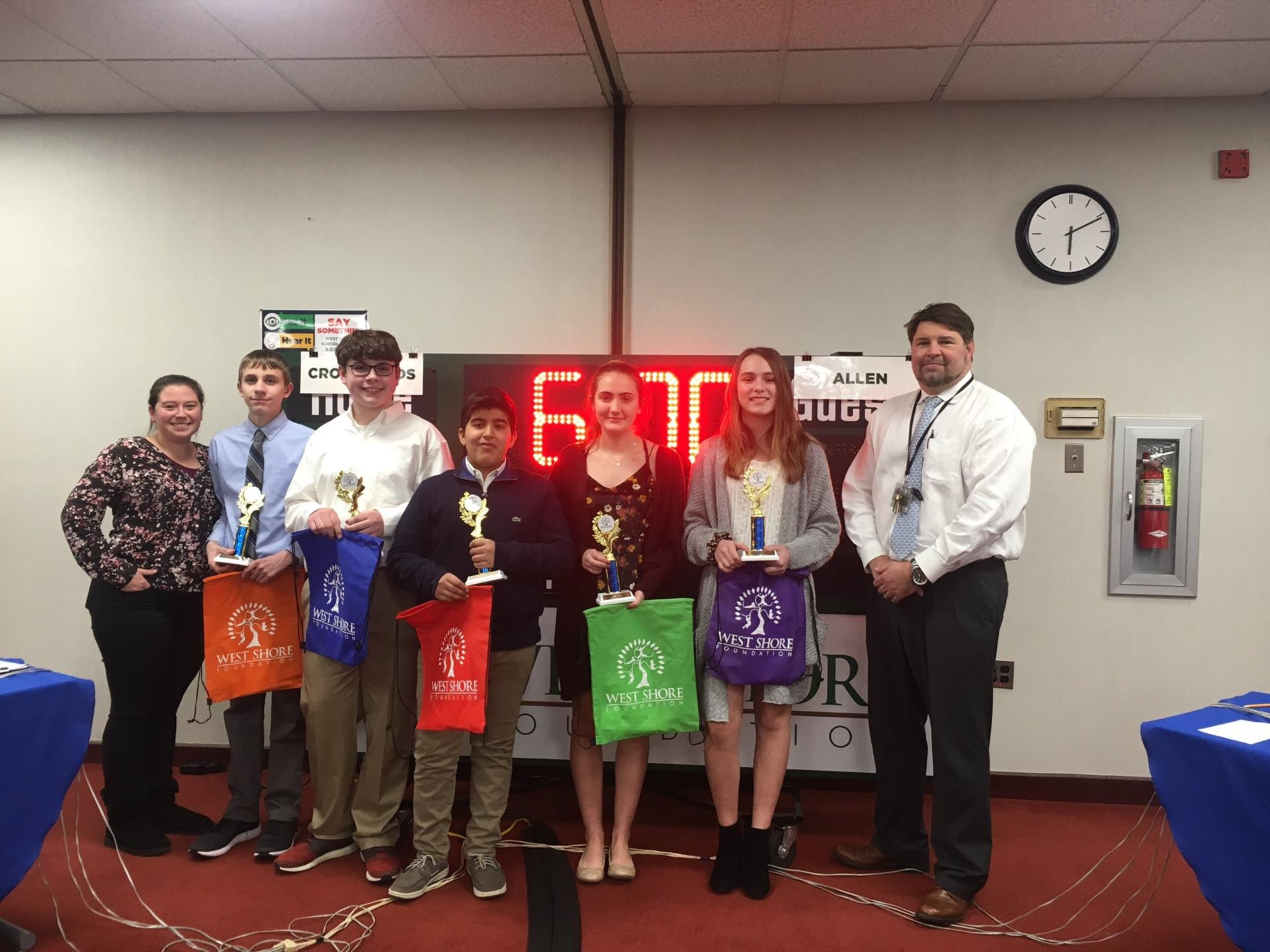 allen eighth grade winners