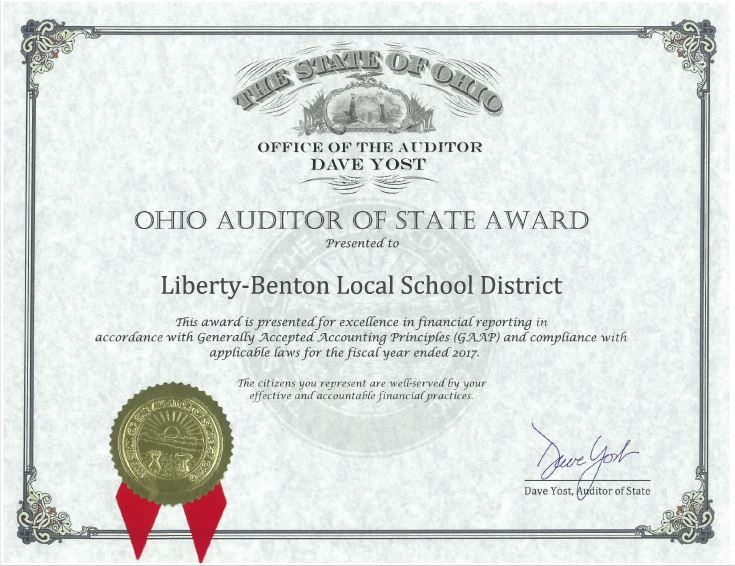 audit award