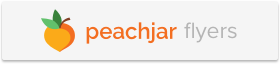 Gray Peachjar logo