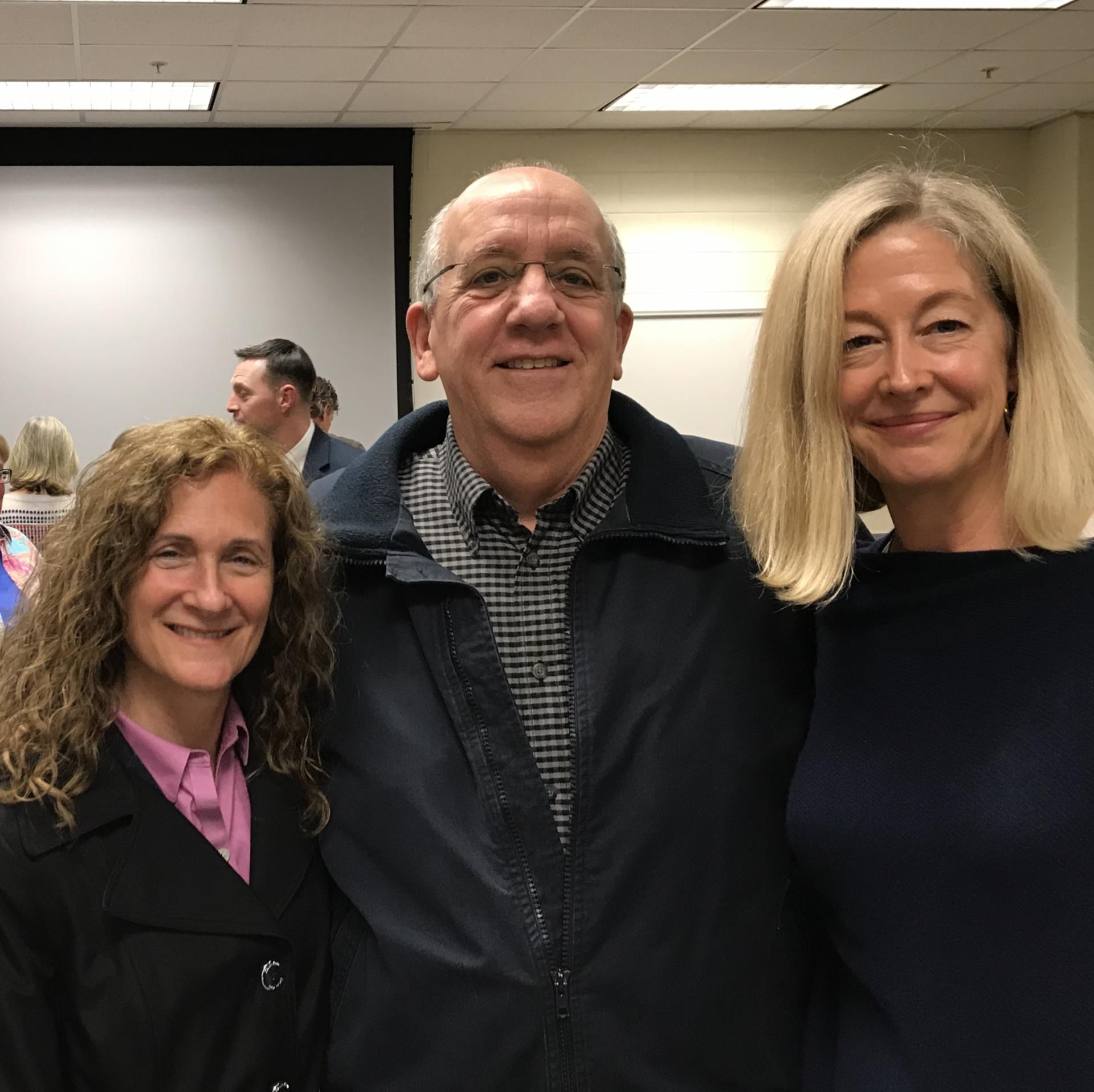 Marci, Lyle, Debbie