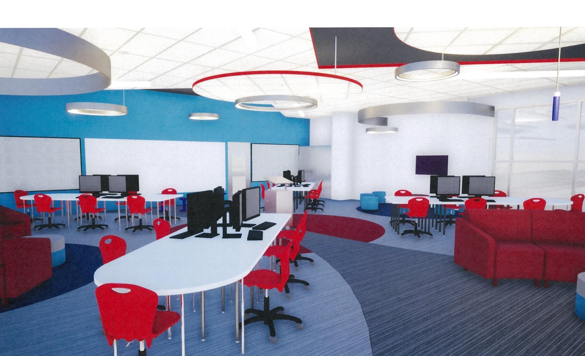 Lab interior view 1