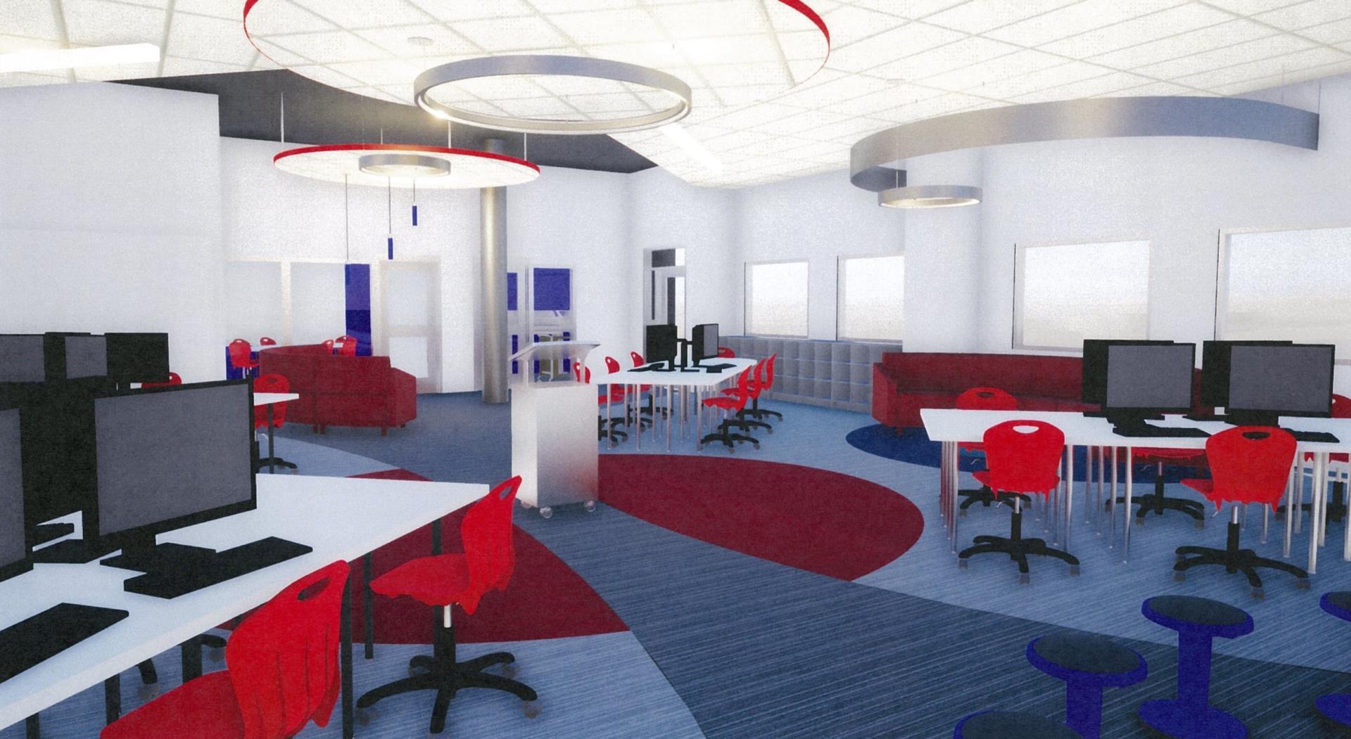 Lab interior view 2