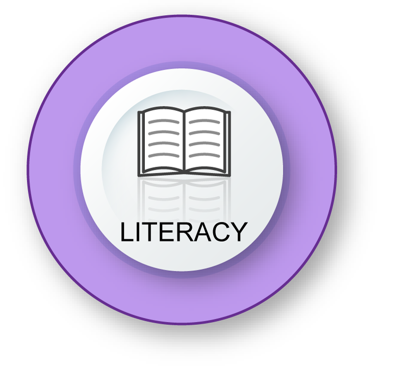 Literacy - Book with words