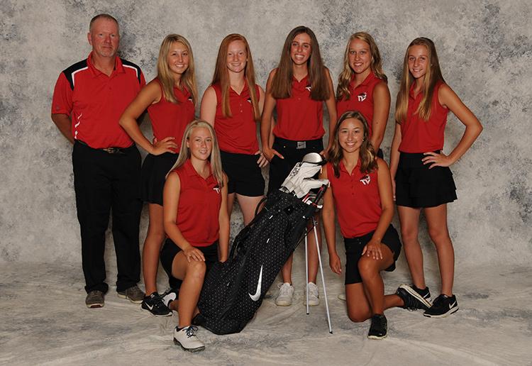 Varsity Girl's Golf Team