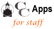 CC Apps for Staff
