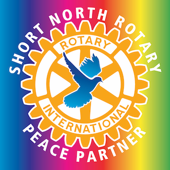 picture of Peace Partner window cling