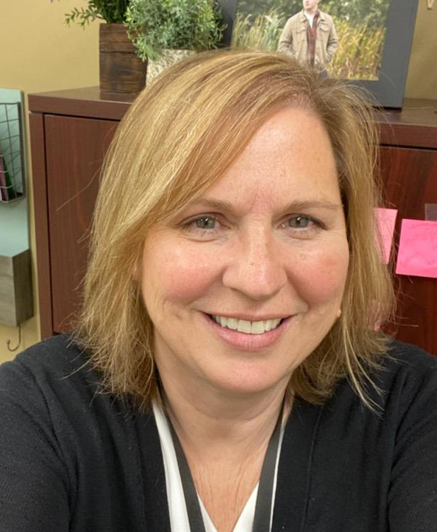 A photo of Work-Based Learning coordinator Cindy Christensen