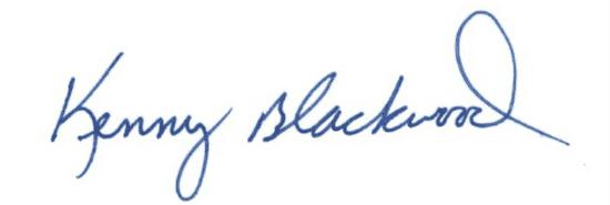 kenny blackwood signature