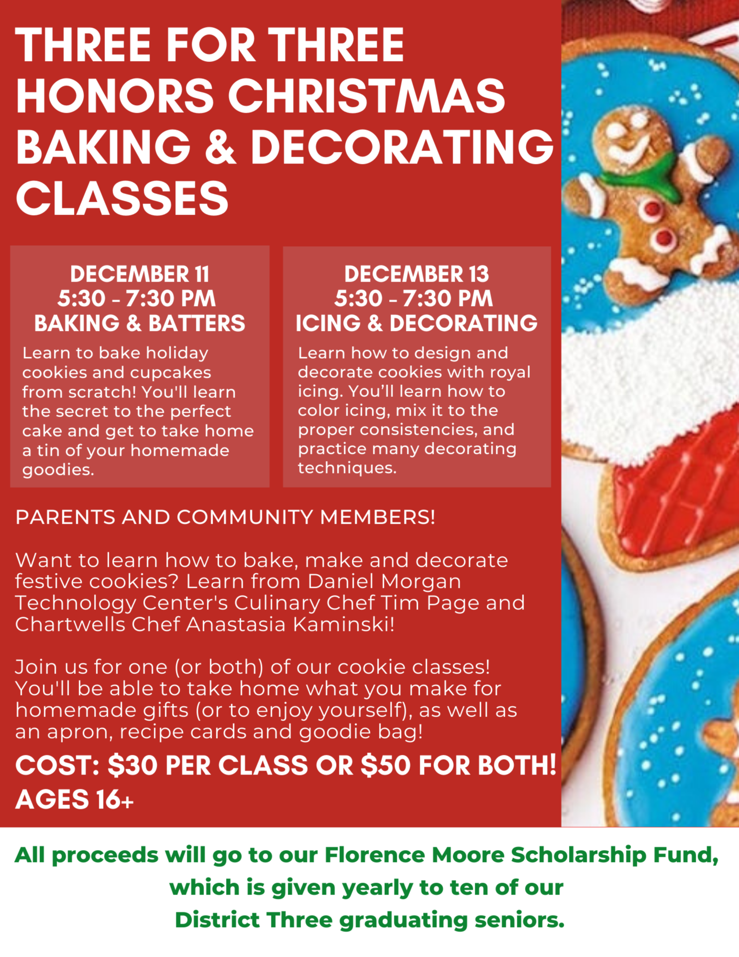 Article Three For Three Honors Baking Decorating Classes
