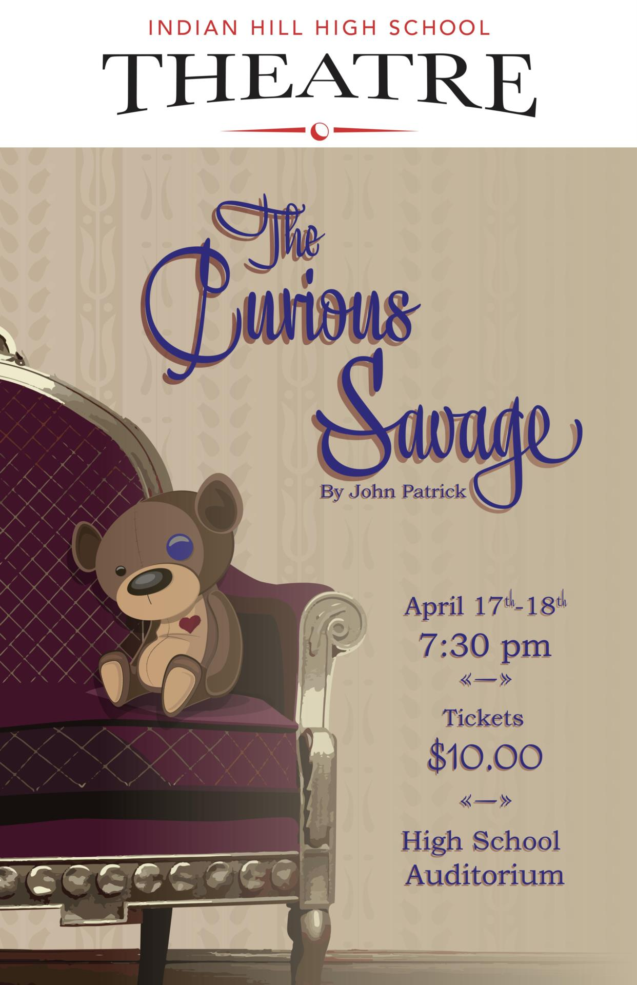 The Curious Savage Poster