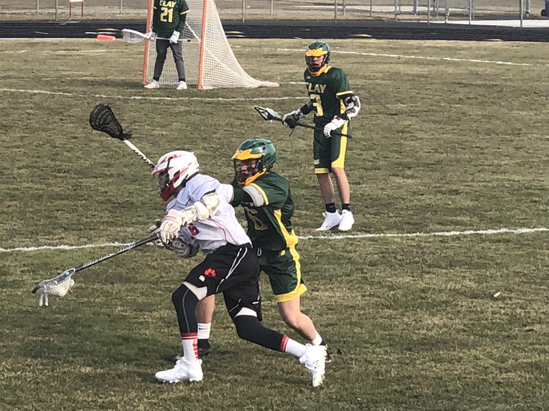Boys Lacrosse Action