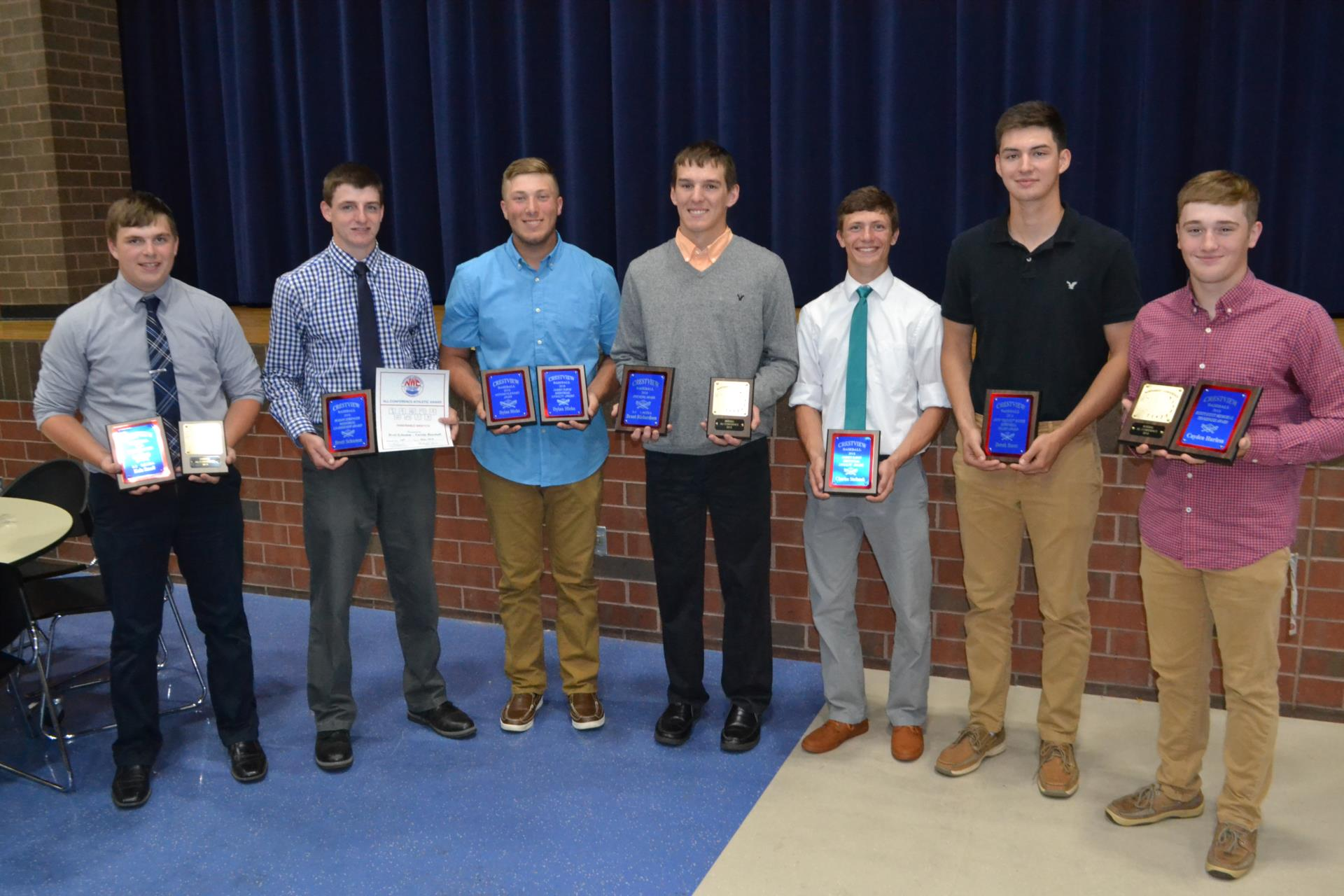 Baseball Special Award Winners