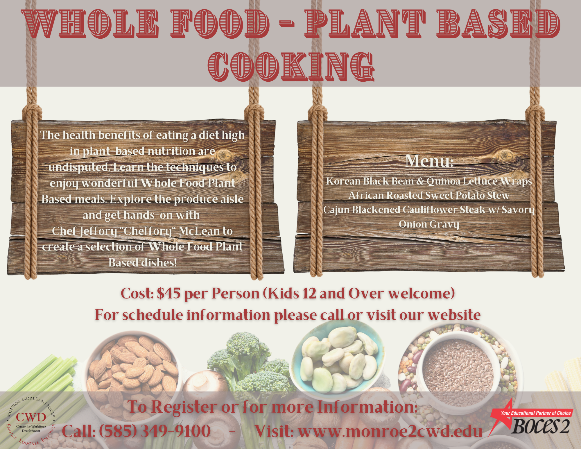 Plant-based Cooking poster