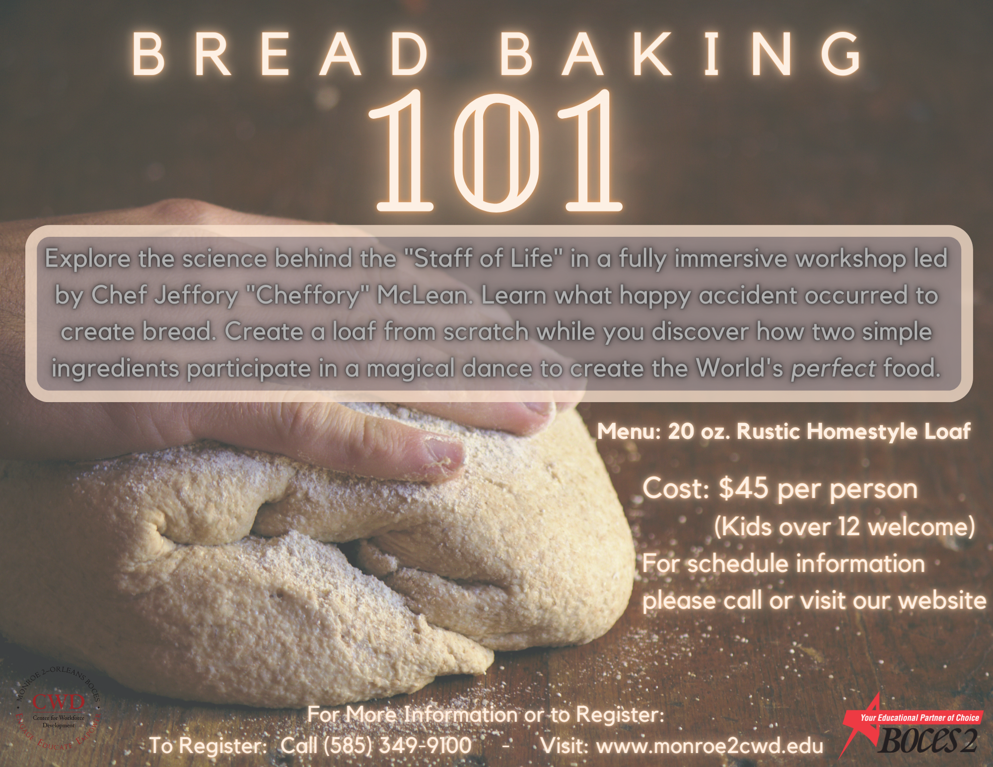 Bread Baking 101 poster