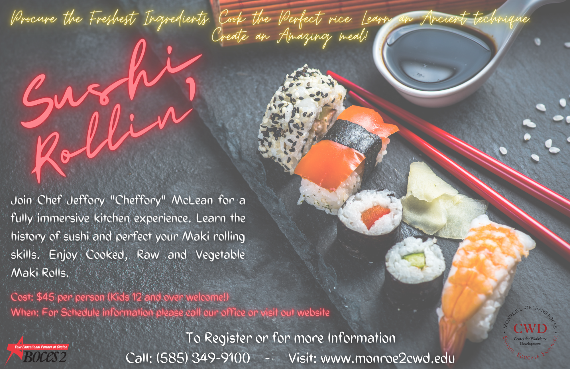 Sushi Rollin' poster