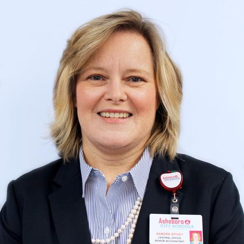 Sandra Spivey, Finance Officer