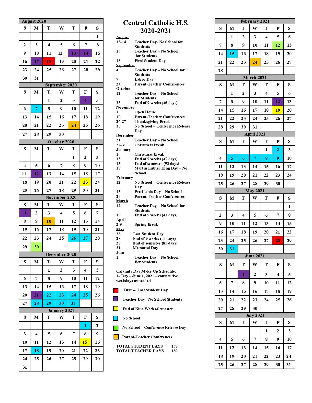 Ohio State Academic Calendar 2022.Academic Calendar 2020 21