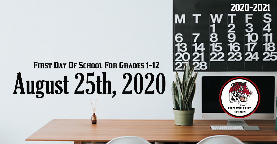 At the June 24th meeting of the board of education, district leadership unanimously approved adjusting the start date for the 2020-2021 school calendar to Tuesday, August 25th from its originally scheduled start date of August 19th.