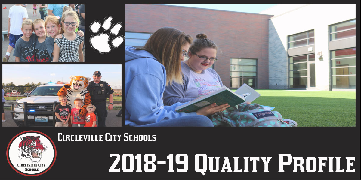 Qualiy Profile media guide information on district initiatves and academic offerings