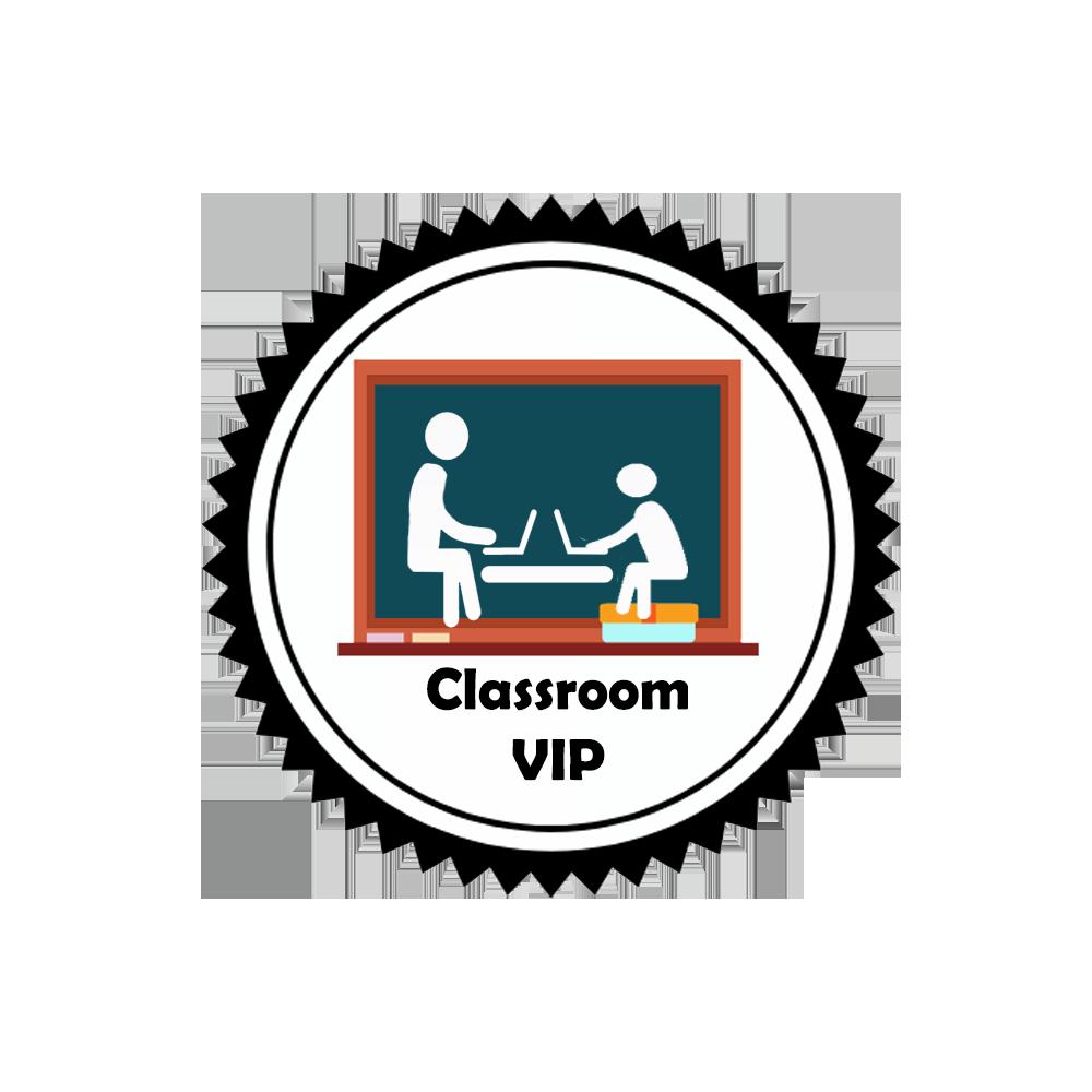Classroom VIP logo