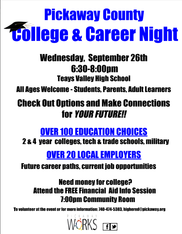 Pickaway College and Career Night