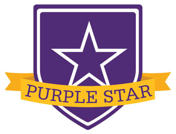 Purple star award given to CHS