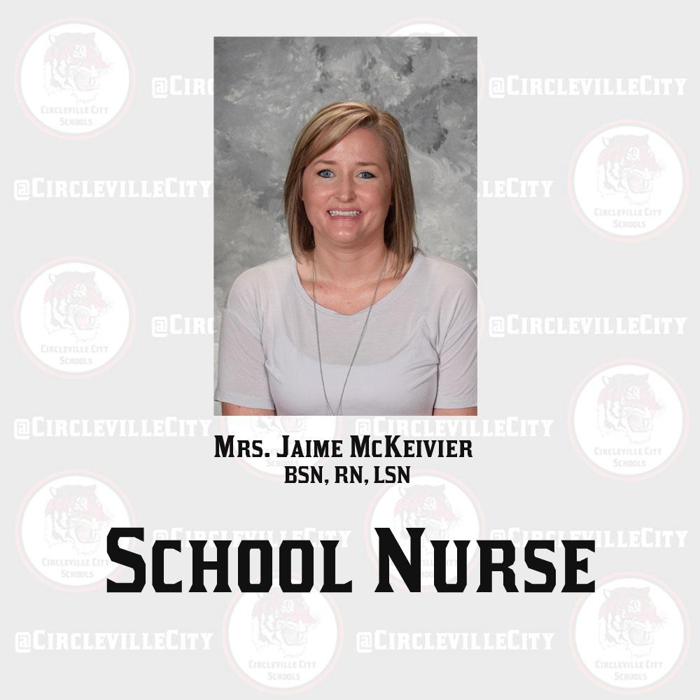 School nurse Jaime McKevier