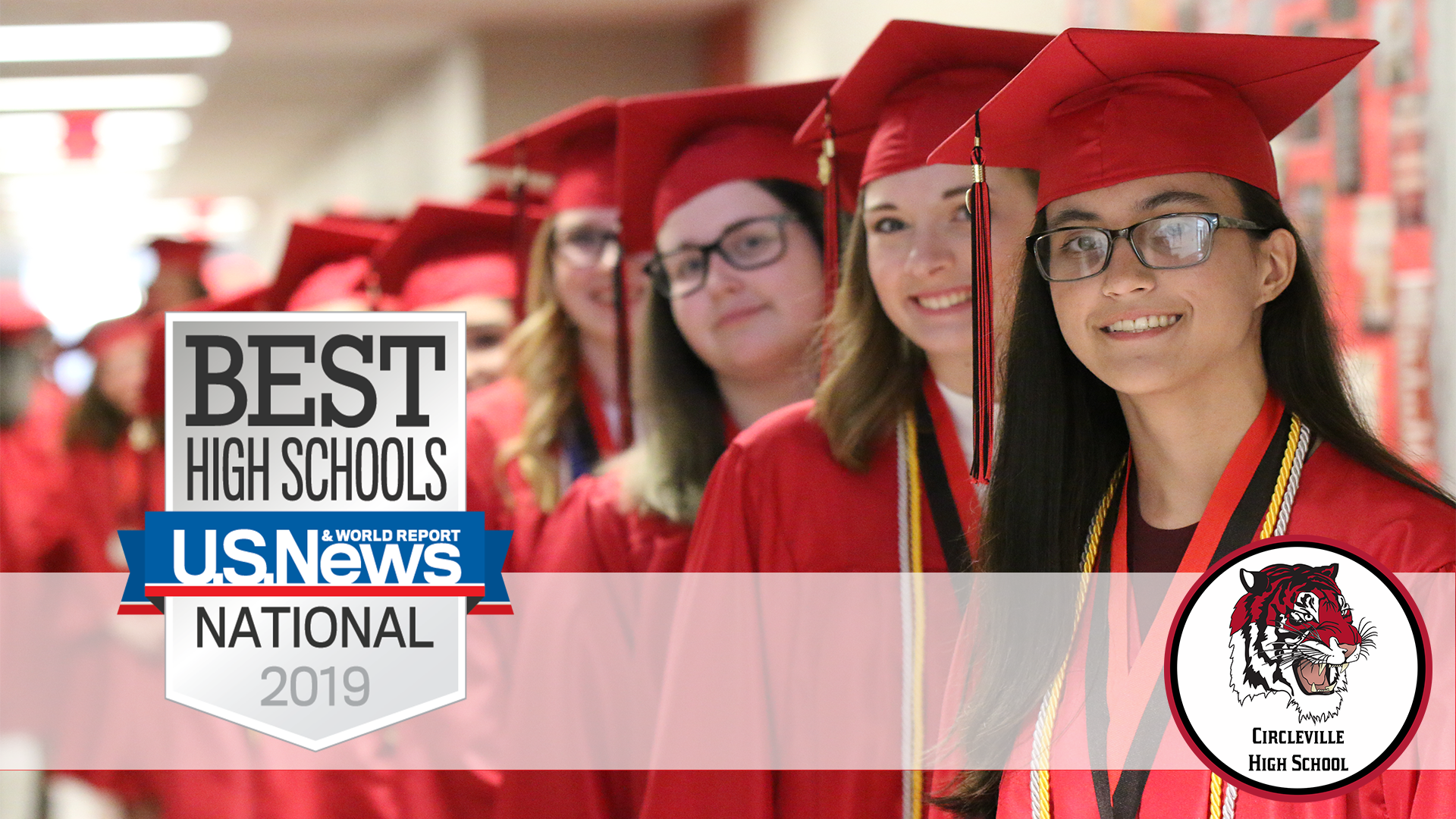 Circleville High School has been named to the U.S. News Best High Schools Rankings report identifying the 9th through 12th-grade school as a top 40%  educational institution nationally.