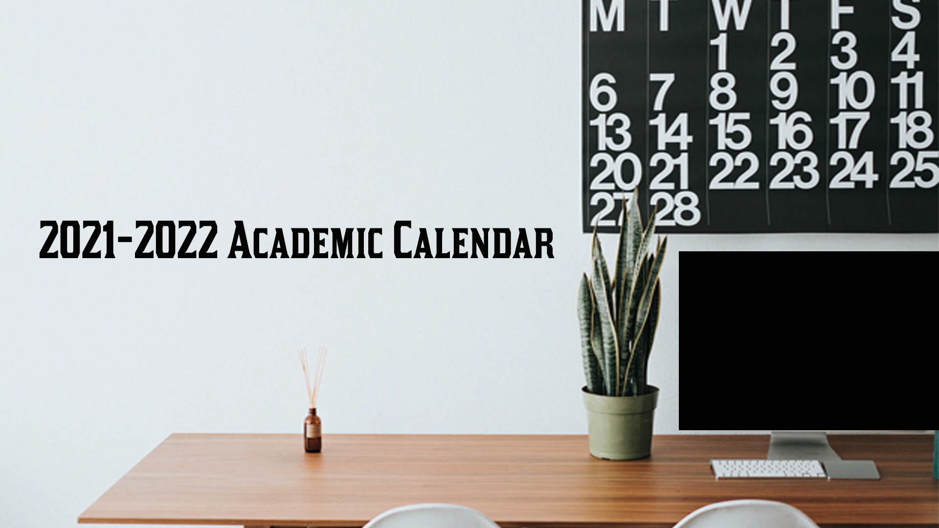 District calendar 2020-2021