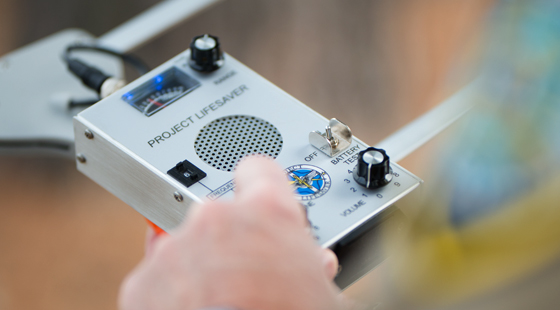 Project Lifesaver radio receiver