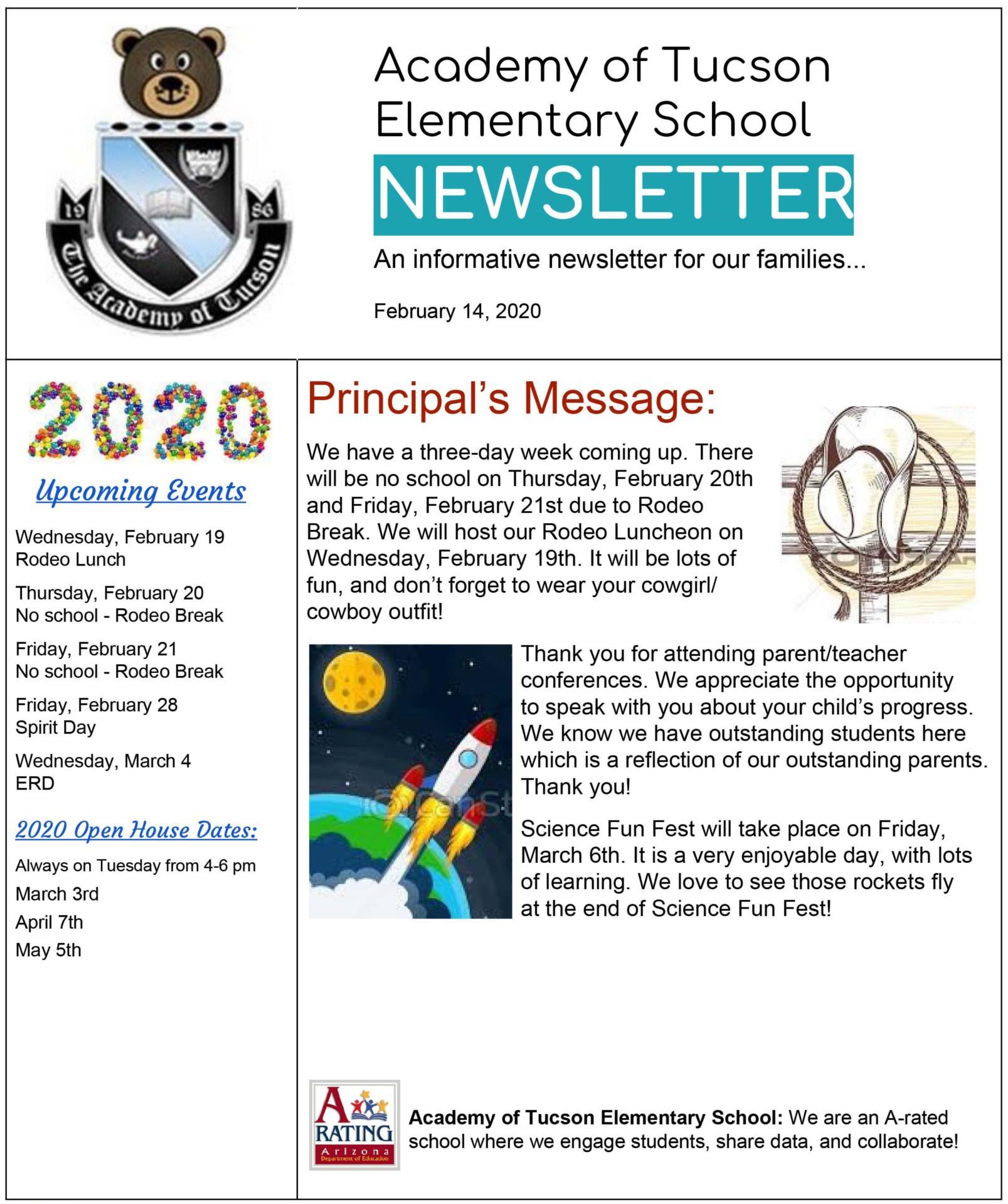 AOT Elementary School Newsletter