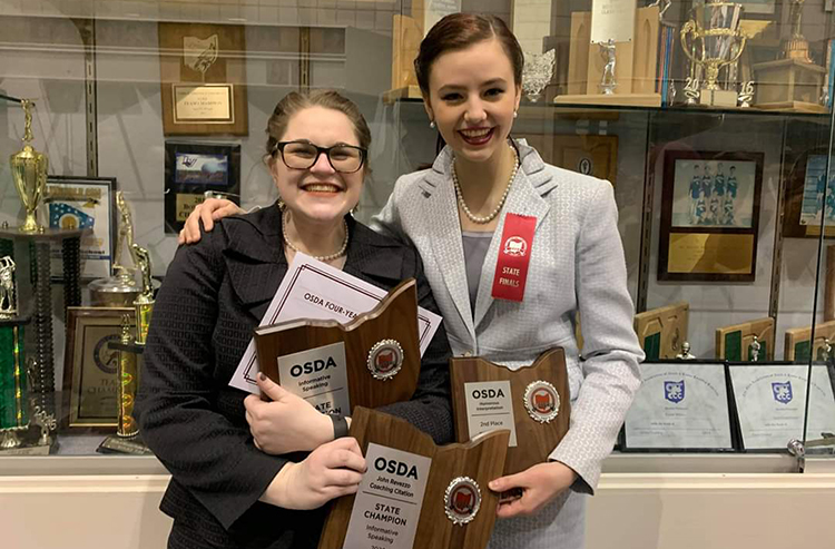 2020 State Speech Placers