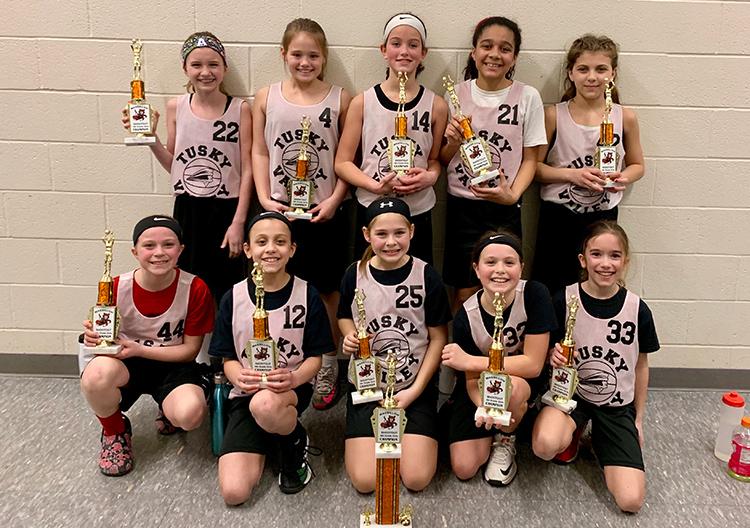 4th Grade Girls Basketball - Massillon Champs