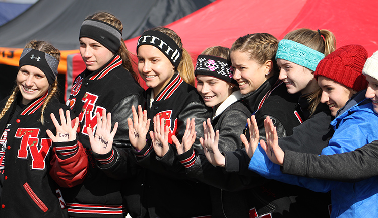Girls' Cross Country Team at State