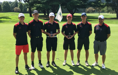 Boys Golf at County Tournament