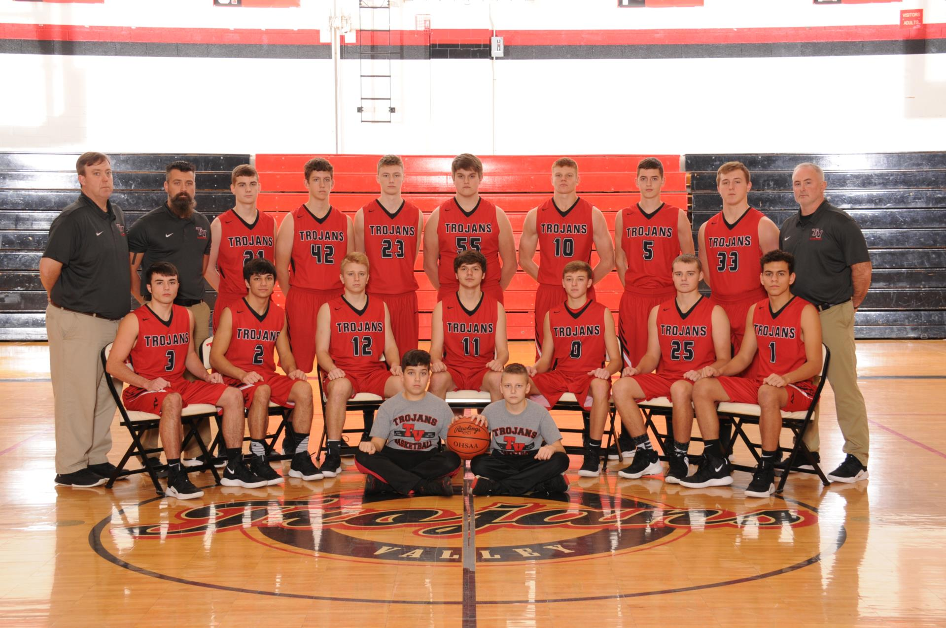 2018-2019 Boys' Basketball Team