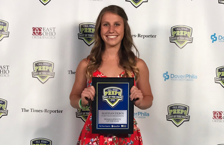 Madisan Debos Was Named Tuscarawas County Female Athlete of the Year