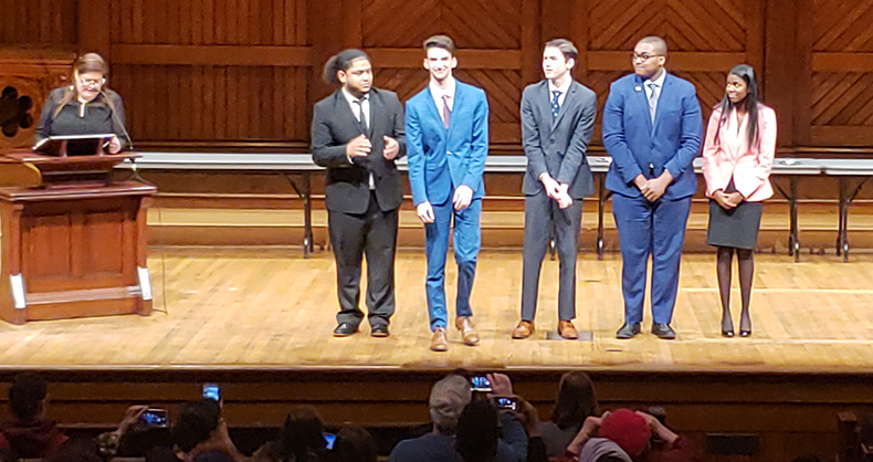 Drake Spina at Harvard