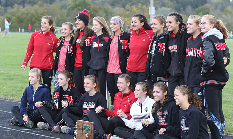 Girls' Cross Country District Champs