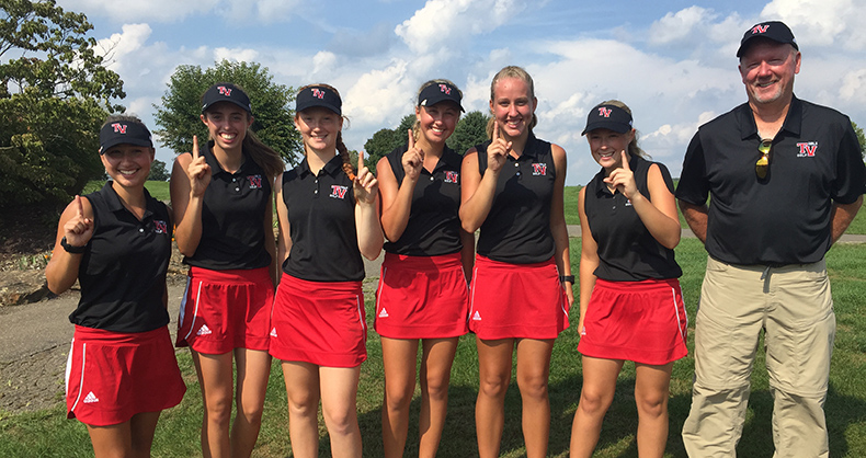 Girls' Golf Captured the IVC Title on September 20th